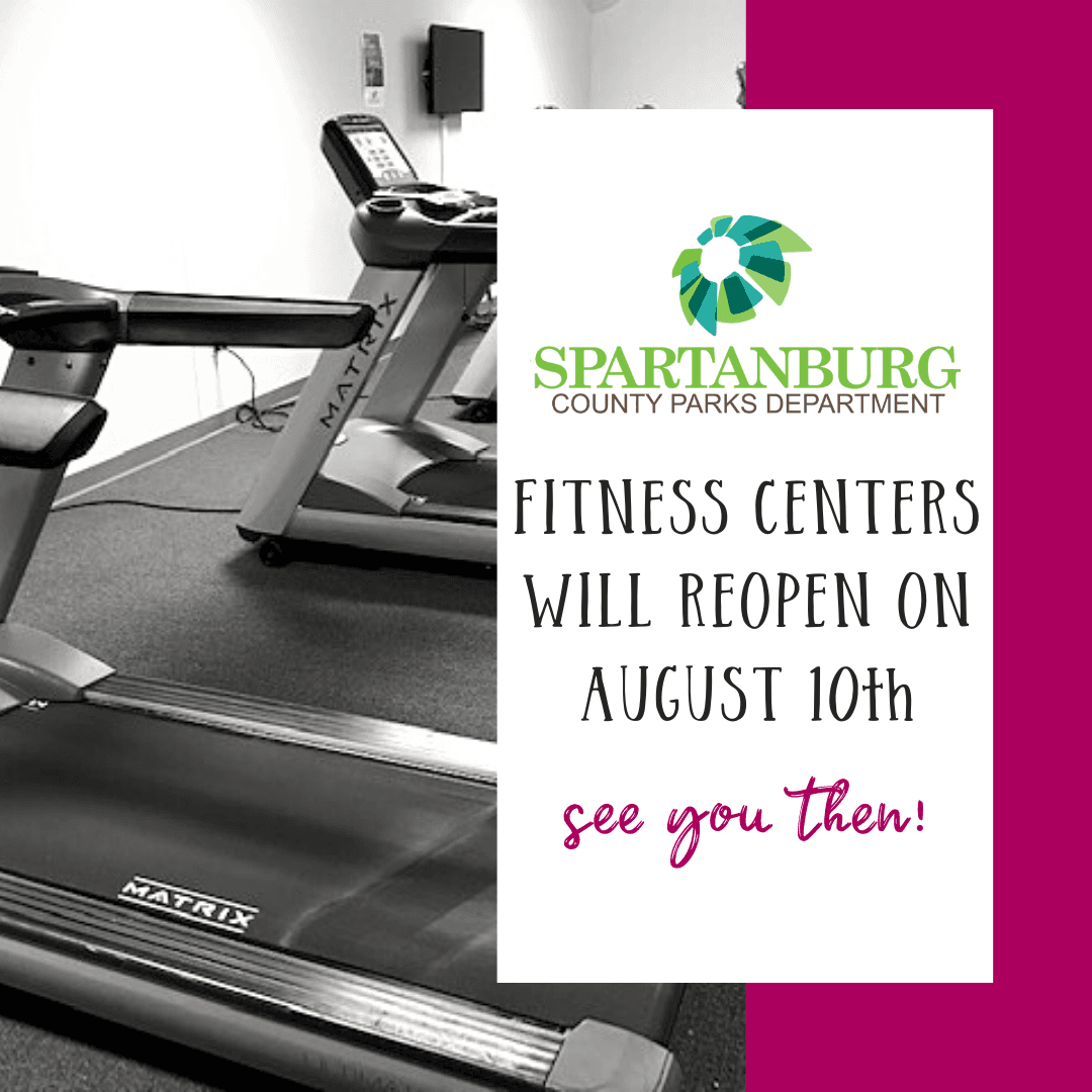 fitness centers open august 10th